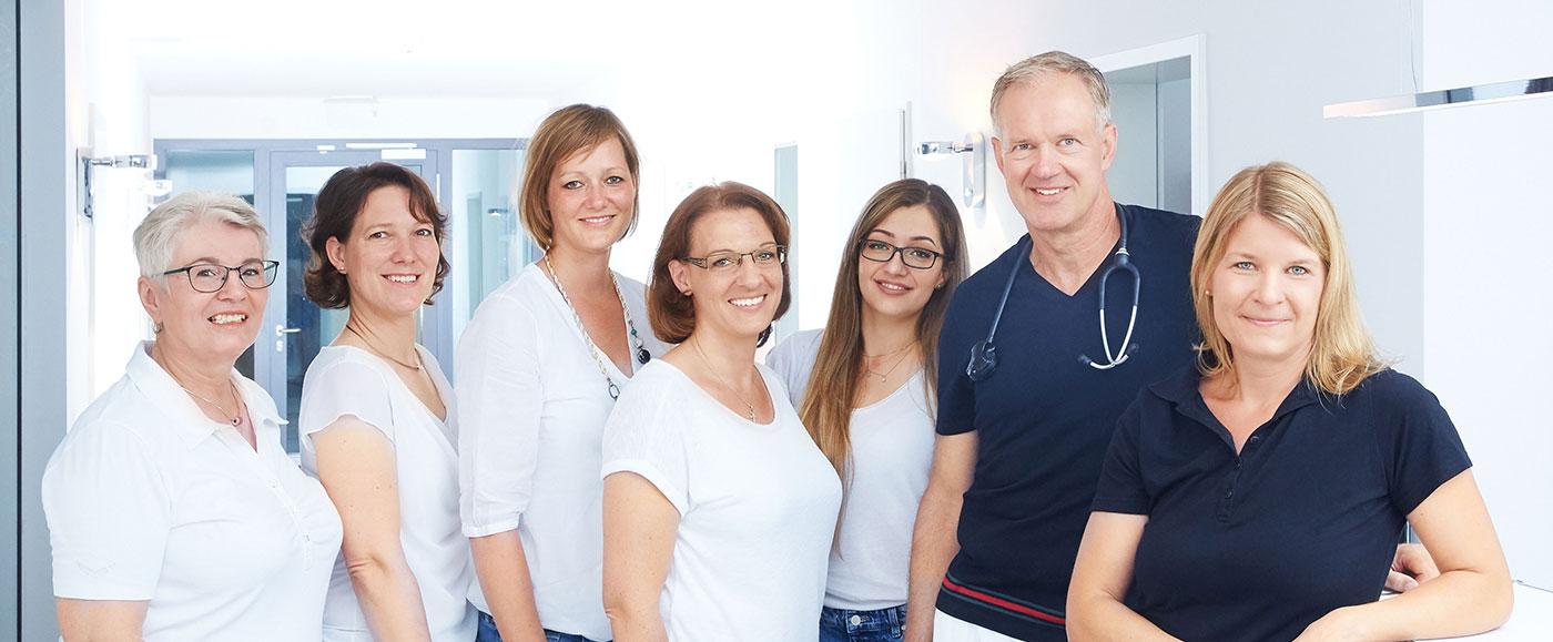Team der Frauenarzt-Praxis Sanden Oehlke